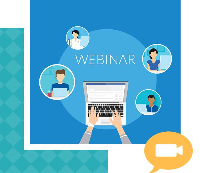 Plataforma Webinar e Congresso Online